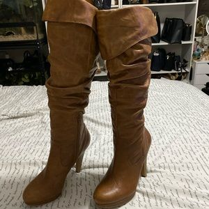 Jessica Simpson leather boots size 8.5